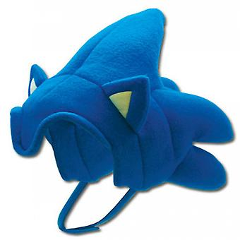 Sonic The Hedgece Fleece Cap Cosplay Traje Sombrero para adultos