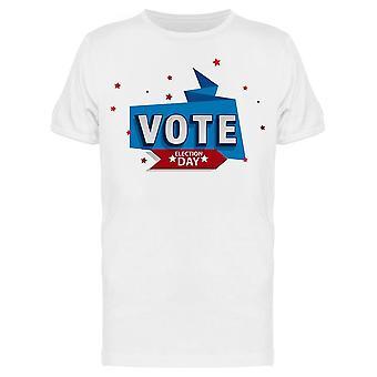 Votez 2020 Day Tee Men-apos;s -Image par Shutterstock