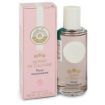 Roger & Gallet Rose Mignonnerie Extrait De Cologne Spray By Roger & Gallet 3.3 oz Extrait De Cologne Spray