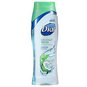 Dial ultra fresh hydrating body wash, coconut water, 16 oz