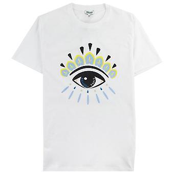 Kenzo Eye T-shirt Weiß/Gelb