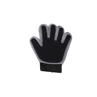 Black Right Hand Silicone Pet Grooming Glove