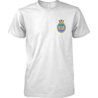 HMS Richmond - nuvarande Royal Navy fartyg T-Shirt färg