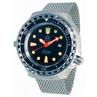 Tauchmeister T0255MIL XXL automatic diving watch 1000 m