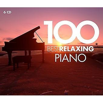 Diverse artiest - 100 Beste Ontspannen Piano [CD] USA import