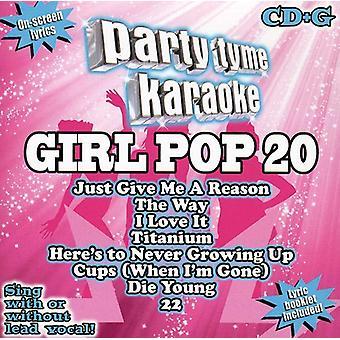Party Tyme Karaoke - Girl Pop 20 [CD] USA import