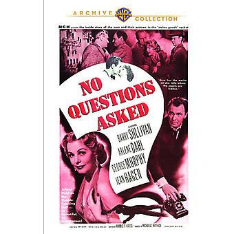 No Questions Asked [DVD] USA import