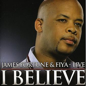 James Fortune & Fiya - I Believe:Live [CD] USA import
