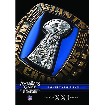 NFL America's Game: 1986 Giants (Super Bowl Xxi) [DVD] USA import