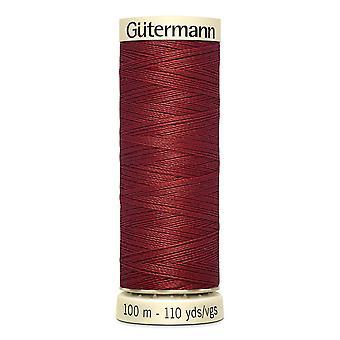 Gutermann Costura-tudo 100% Polyester Thread 100m Código de Cor da Mão e da Máquina - 221