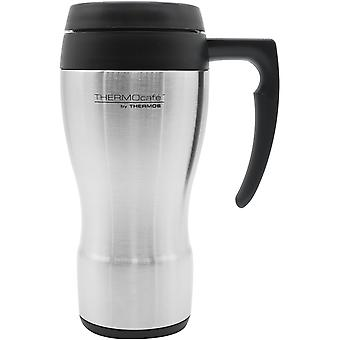 Thermos 16 oz. ThermoCafe Stainless Steel Travel Mug - Roestvrij staal/zwart