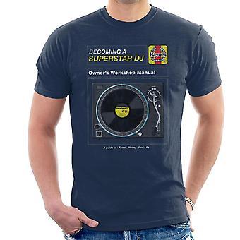 Haynes Superstar DJ Owners Workshop Manual Miesten t-paita