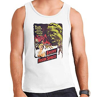 Hammer Horror Films Quatermass 2 Enemy From Space Men's Vest