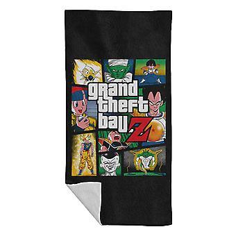Grand Theft Ball Z Grand Theft Auto Dragon Ball Z Beach Towel