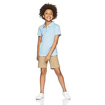 Essentials Little Girls' Uniform Short, Khaki,5