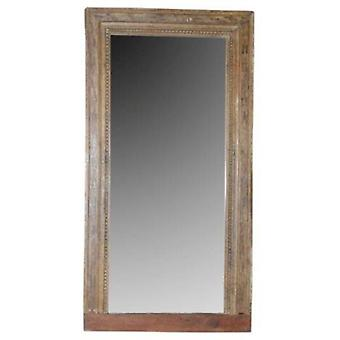 مرآة خشبية