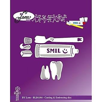 By Lene Toothbrush Cutting & Embossing Dies