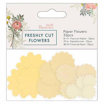 Papermania Freshly Cut Flowers Paper Flowers (32pcs) (PMA 157278)