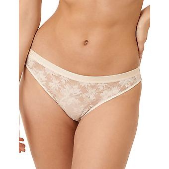 Miss Sans Complex Sous Le Charme 60PAF52-HJJ Women's Powder Ivory Floral Knickers Panty Full Brief