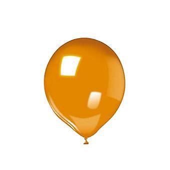 """25 10""""/25cm Μπαλόνια - Πορτοκαλί"""