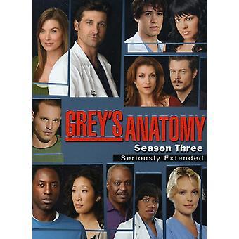 グレイズアナトミー恋の解剖学 - 灰色の解剖学: シーズン 3 【 DVD 】 USA 輸入