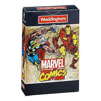 Marvel Comics Waddingtons No.1 Playing Cards