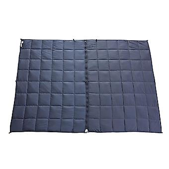 Snipe Divisible Cool Weighted Blanket 7 kg Grey Bamboo Satin