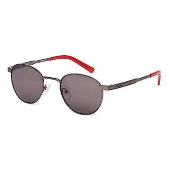 Ducati Unisex Sunglasses Round Design Metal Frame Coloured Tinted Lenses
