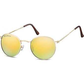 نظارات شمسية Unisex Cat.3 الذهب (MS92H)