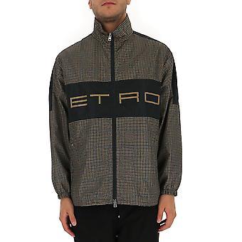 Etro 1s85203140800 Herren's Grau Polyester Outerwear Jacke