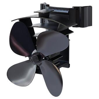 Remora flue pipe heat powered stove fan