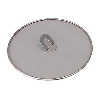 Stainless Steel Grease Fine Mesh Cover 29cm Dia
