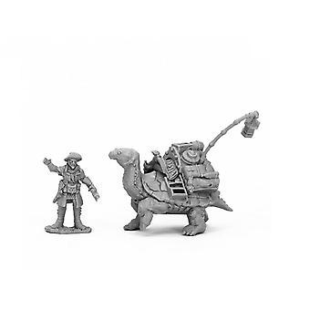 Reaper Bones Black 44053 Dreadmere Tortoise & Drayman