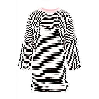 Fearless Illustration Hostile Drop T-Shirt Dress