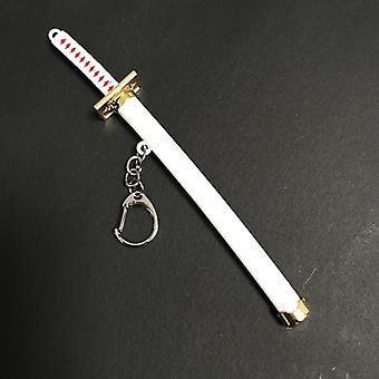 Unisex Anime Mini Naruto Metal Alloy Samurai Sword Toys For Children - Keychain