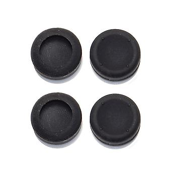 Thumbstick grips for ps3 & xbox 360 controllers analog concave caps - 4 pack black | zedlabz