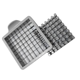 Stainless Steel French Fries Cut Potato Vegetable Chopper - 2 Blades With Different Holes Design
