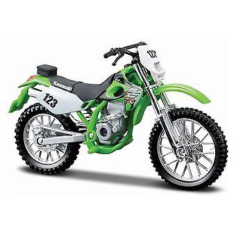 Maisto Edición Especial Moto 1:18 Kawasaki KLX 250SR