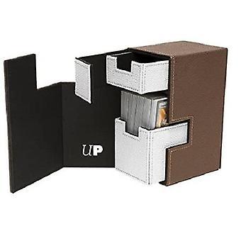 Caixa de deck Ultra Pro M2.1 - Marrom/Branco