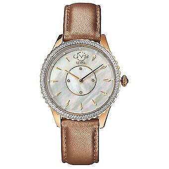 Gv2 By Gevril Women's Siena Swiss Quartz Diamond Accented Strap Watch