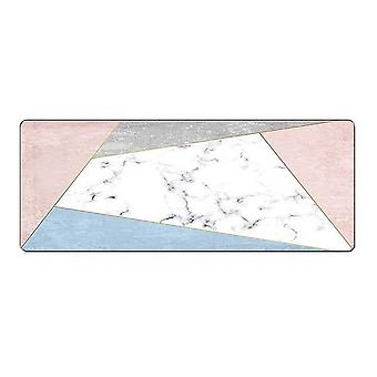Mouse pad extra large Pink White (30x70)