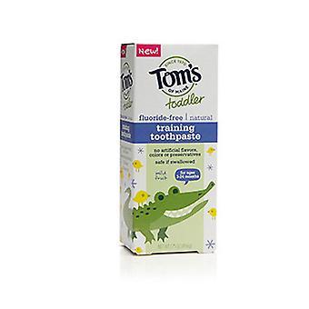 Tom's von Maine Kleinkind Training Zahnpasta, milde Frucht, 1,75 Oz