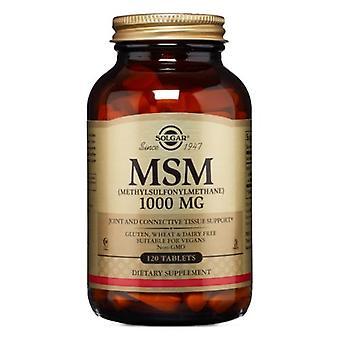Solgar MSM, 1000 mg, 120 Tabletten