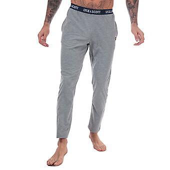 Pantalon de salon Men-apos;s Lyle and Scott Alastair Lounge en gris