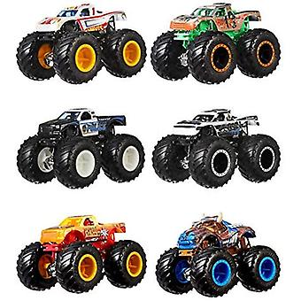 Hot Wheels Monster Trucks 1:64 Demolition Doubles 2-Pack (uno suministrado)