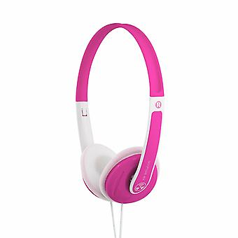 iFrogz Audio Rhythmix Headphones on Ear with Microphone for Kids & Adult, Pink