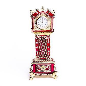 Red Big Ben Ceas Breloc Box