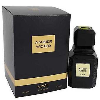 Ajmal chihlimbar de lemn de Ajmal EAU de Parfum Spray (unisex) 3,4 oz (femei) V728-542002