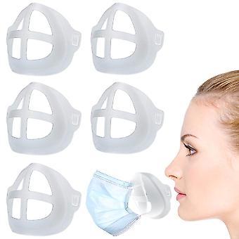 3D priedušný ventil ústnej masky podporu, 5 ks