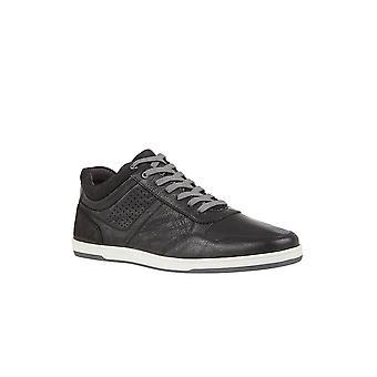 Lotus Willard Leder Trainer Stil Schuh in schwarz